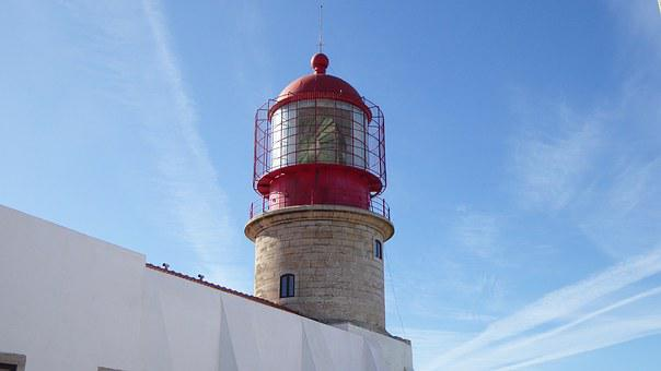 Lighthouse, Sagres, Southern Tip Of Portugal, Algarve