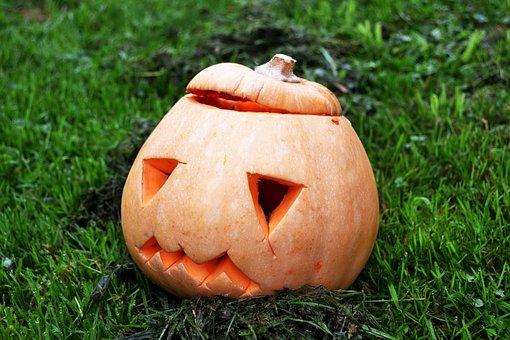 Pumpkin, Squash, Halloween, Jack-o-lantern