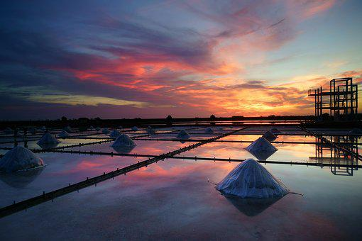 Salt Pan, The Evening Sun