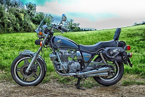 Honda, Cb650 C, Motorcycle, Cycle, Transportation, Hdr