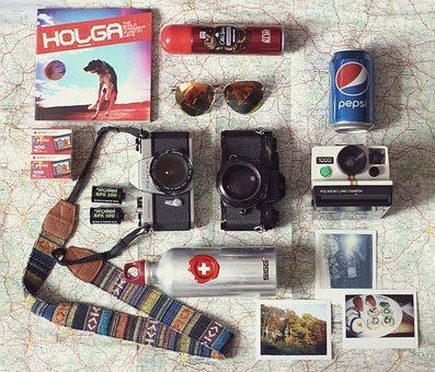 Camera, Camera Equipment, Travel, Summer Holiday