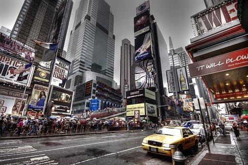 New York, New York City, Nyc, Usa, Broadway
