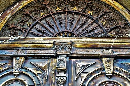 The Door, Old, Antique, Old Door, Architecture