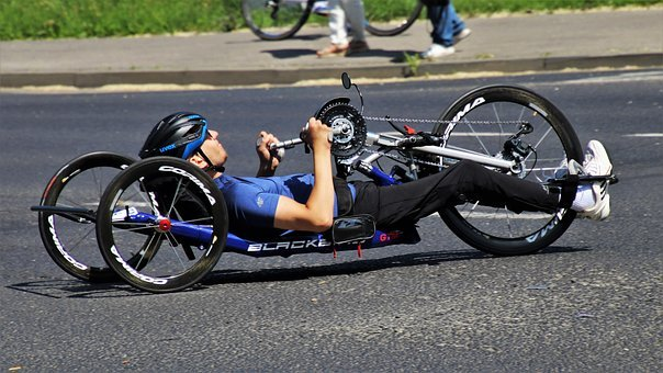 Trike, Bike, Active, Marathon, Training, Spokes, Passes