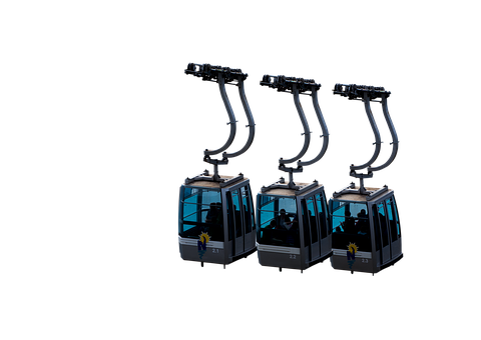 Cable Car, Transparent, Transport, Lift, Conveyor Belt