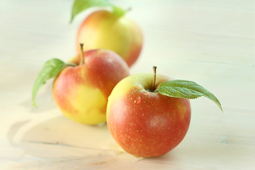 Closeup, Plant, Food, Apple, Red Apple, Apples, Fruit
