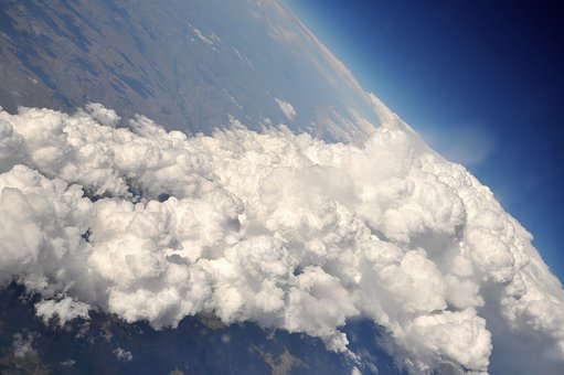 Fly, Clouds, Earth, Planet, Sky, Blue, Habitat, Air