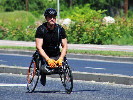 Sport, Traffic, Marathon, Games, Competition, Disabled