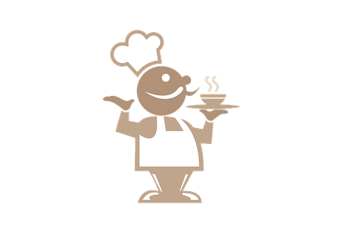 Restaurant, Chef, Cook, Sign, Logo, Icon, Cooking