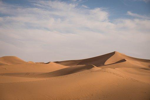 Sahara, Desert, Sand, Africa, Drought, Dune, Nature