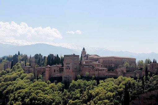 Granada, Spain Alhambra, Culture, Holiday, Arabic, City