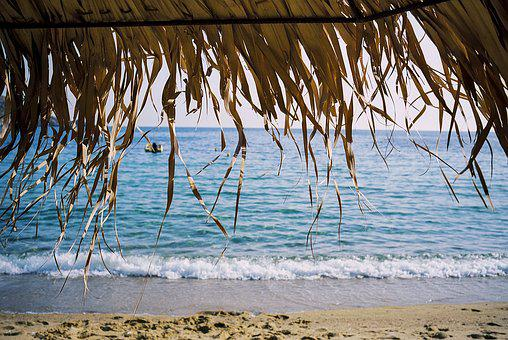 Beach, Travel, Greece, Ios, Cyclades, Mediterranean