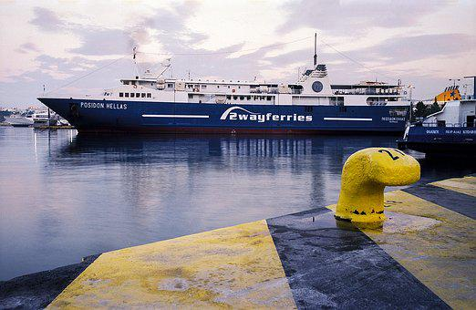 Ferry, Ship, Harbor, Port, Piraeus, Travel, Greece
