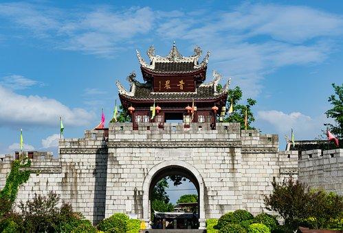 Guiyang, Qingyan Ancient Town, Huaxi, Green Rock