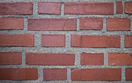 Brick, Hauswand, Wall, Stone Wall