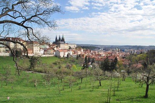 Prague, Castle, Old Town, Czech Republic, Historically