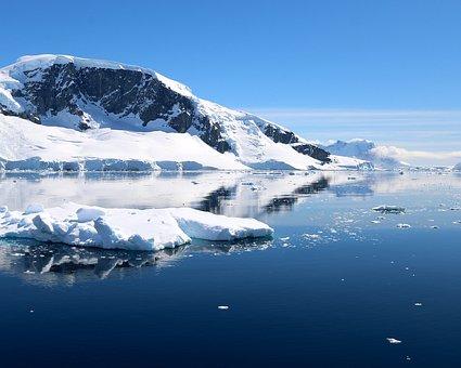 Iceberg, Ice Floes, Water, Ice, Antarctica, Waters