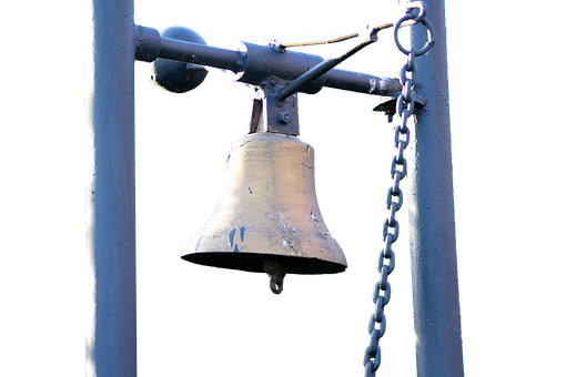 Bell, Isolated, Ring, Metal, Church Bell, Sound, People