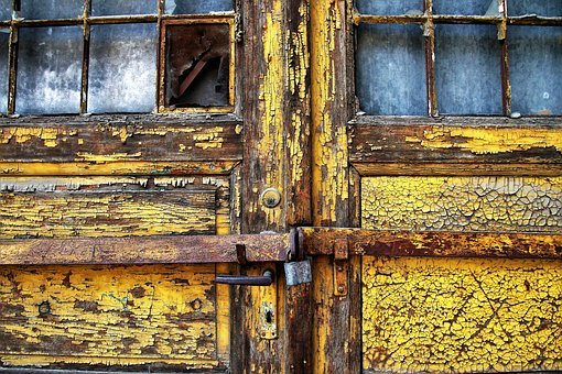 Old, Rust, The Door, Lost Place, Open, Door Handle