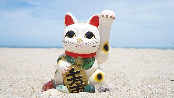 Maneki Neko, Feng Shui, Maneki, Cat, Symbol, Lucky