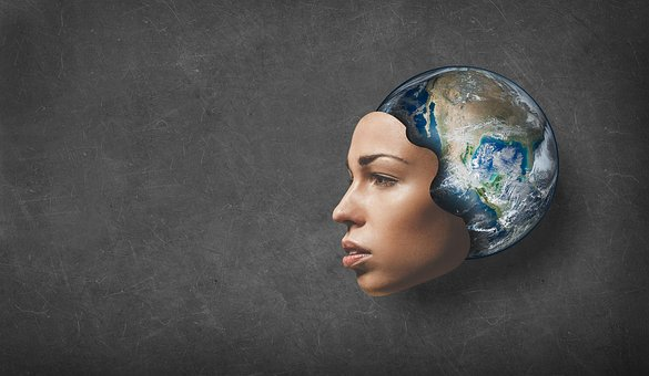 Terra, Earth, Planet, Mask, Face, Planet Earth