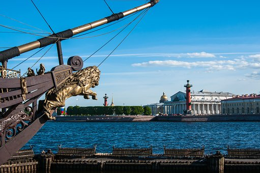 Day Of The City, St Petersburg Russia, Neva