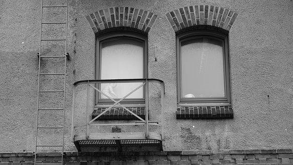 Window, Brick, Facade, Old, Architecture, Building