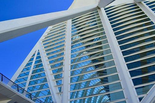 Architecture, Modern, Building, Perspective, Modern Art