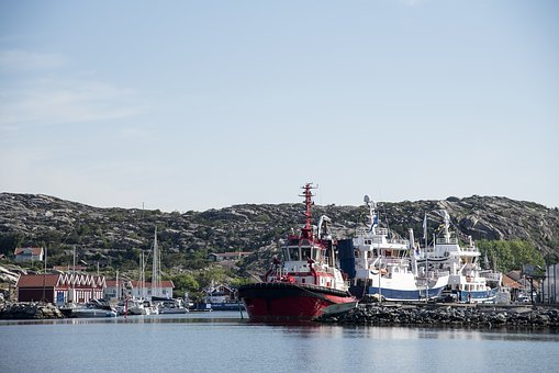 Sea, Port, Summer, Water, Boats, Ships, Archipelago