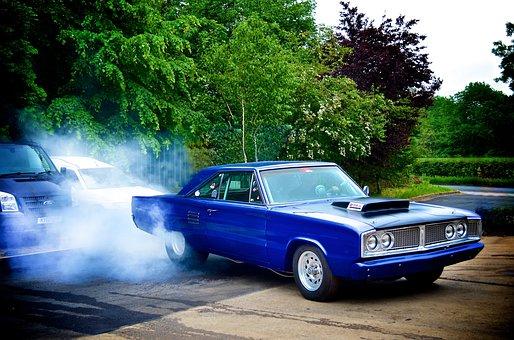 Dodge Coronet, Drag Car, Race Car, American Muscle Car