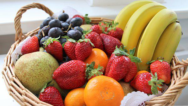 Fruit, Basket, Still Life, Healthy, Fruits, Red