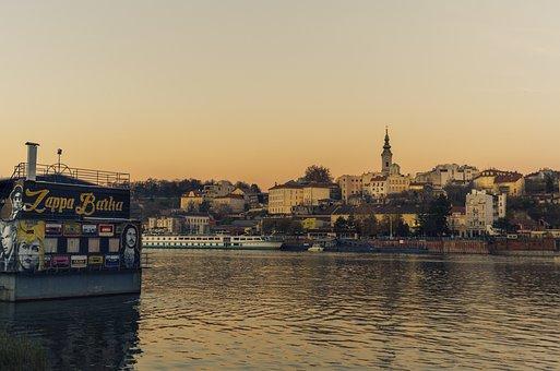 Belgrade, City, River, Sava, Urban, Travel, Cityscape