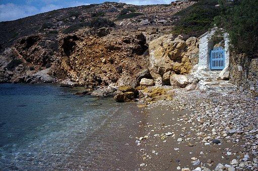 Rocks, Travel, Greece, Ios, Cyclades, Mediterranean