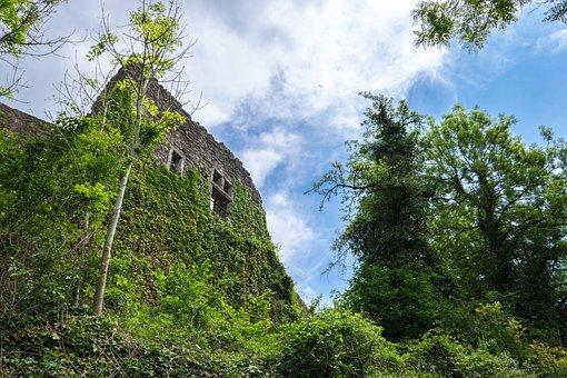 Ruin, Burgruine, Masonry, Stone Wall