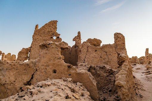Siwa, Egypt, Shali, Old