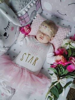 Baby, Sleeping Baby, Angel