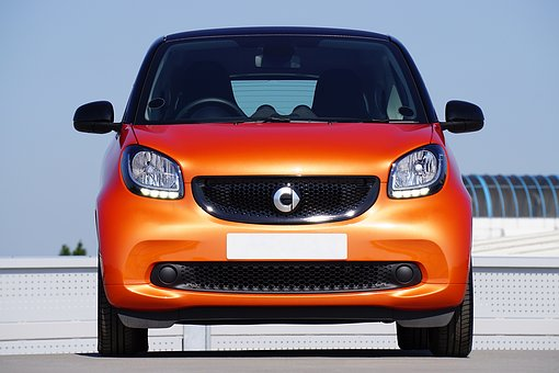 Smart Fortwo, Car, Auto, Automobile, Benz