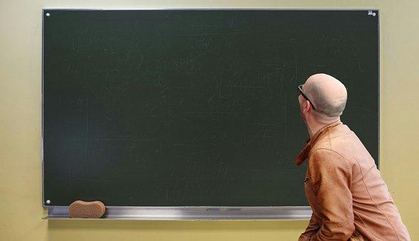 Class Room, Teacher, Course, Training, Looking