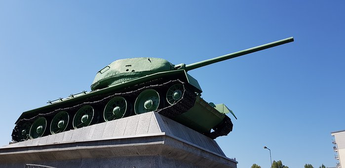 Main Battle Tank, T34, The War, The Army, Military