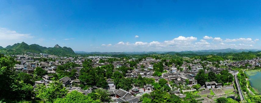 Guizhou, Guiyang, Qingyan Ancient Town, Township
