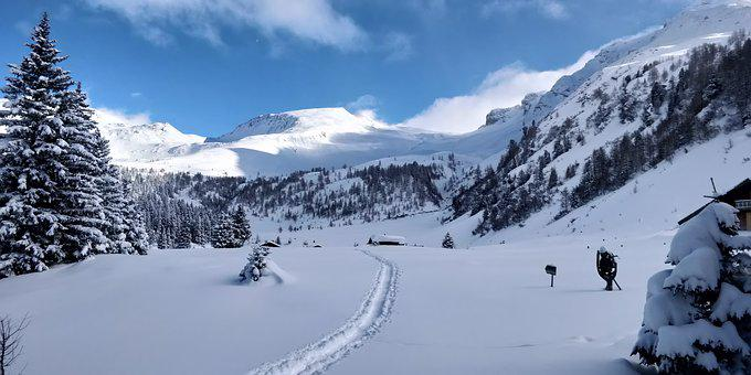Nature, Unaffected, Mountains, Snow, Beautiful
