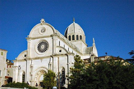 Croatia 2008, šibenik, Basilica Of St, Jakob, 1431-1536