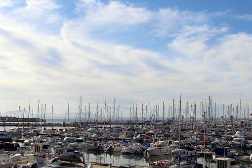 Port, Port D'alcudia, Mallorca, Coast, Alcudia, Holiday