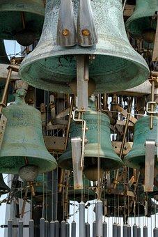 Carillon, Church, Church Bell, Alkmaar, Clock, Chimes