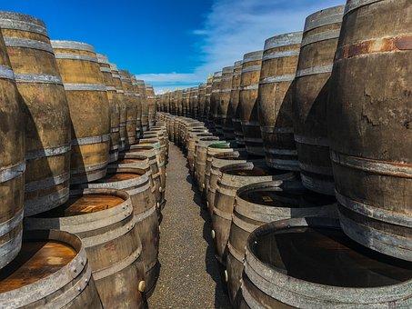 Barrels, Wine, Winery, Cask, Rioja, Drink, Grape, Wood