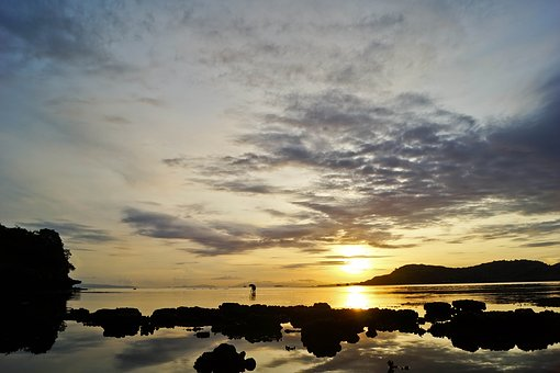 Nanganur, Beach, Sape, Bima, Boat, Indonesian, Sunrise