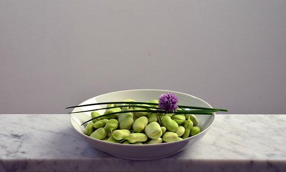 Beans, Plate, Eat, Green, Frisch, Fresh Beans