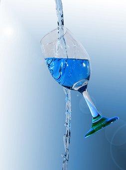 Splash, Cup, Broken, Drops, Water, Cocktail, Martini