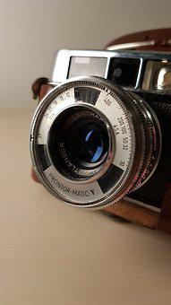 Camera, Machine, Photographic, Vintage, Era, Objective