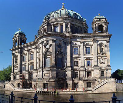 Berlin Cathedral, Church, Berlin, Middle, Dom
